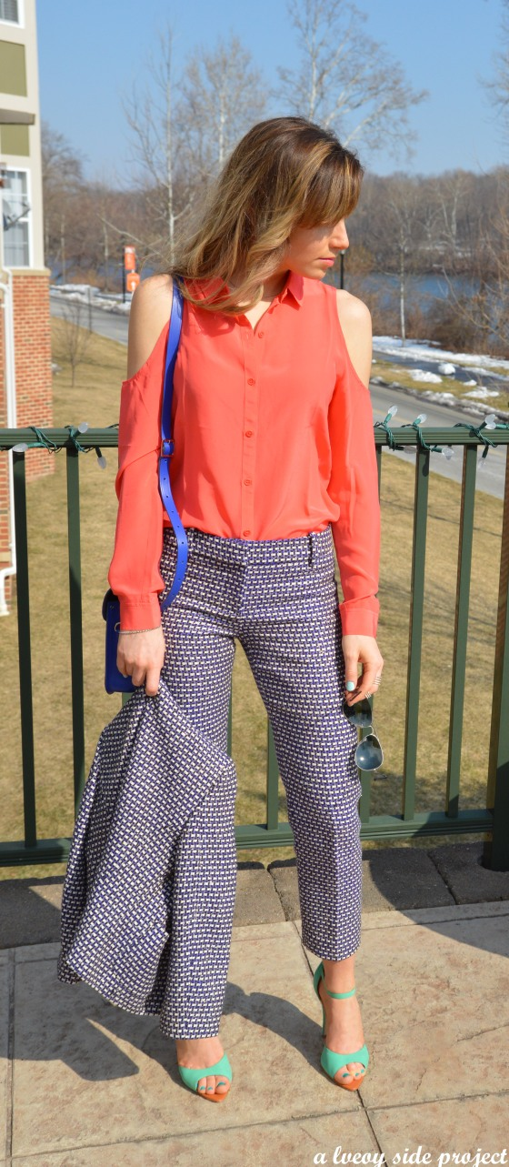 cambridge satchel co tweed pants look w