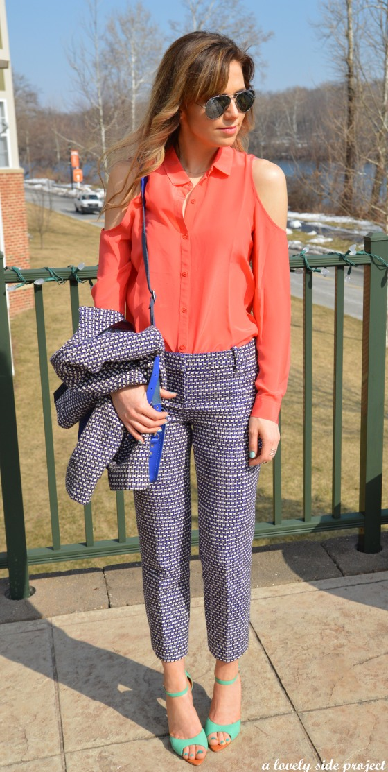 J Crew Tweed Pants w